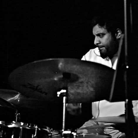 Kesivan Naidoo on Drums